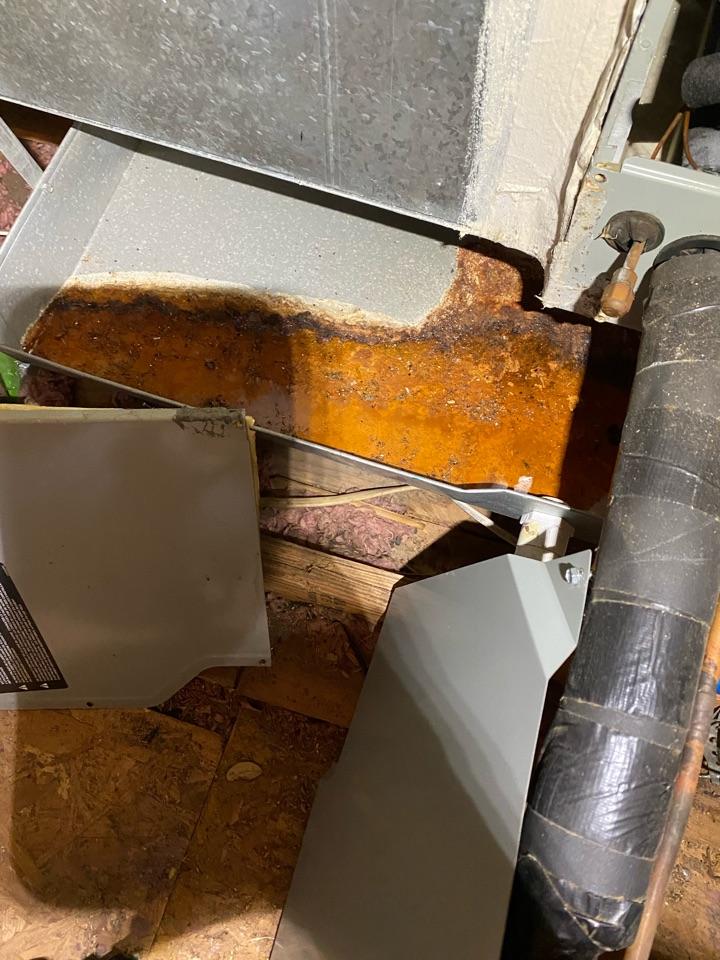 Plano, TX - Replace drain pan