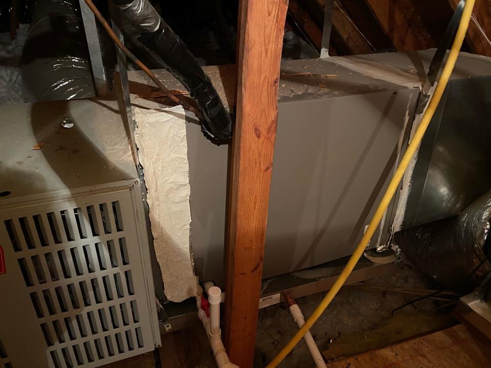 Allen, TX - Warranty evap coil.