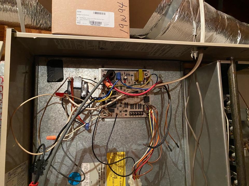 Replacing control board