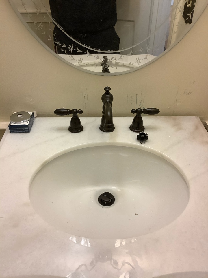 Toilet replacement, faucet replacement