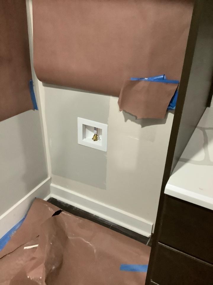 Cumming, GA - Ice makers box install