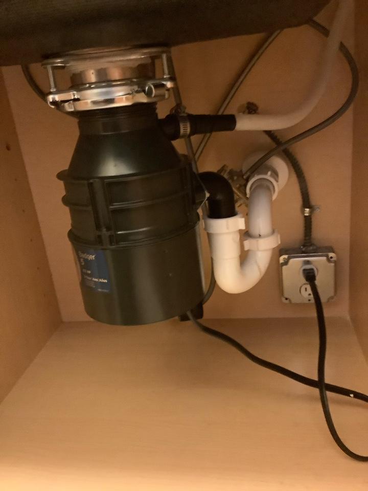 Garbage disposal replacement