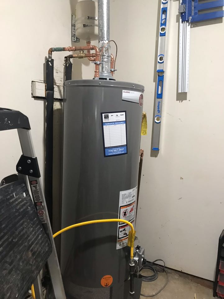 Marietta, GA - Water heater replacement