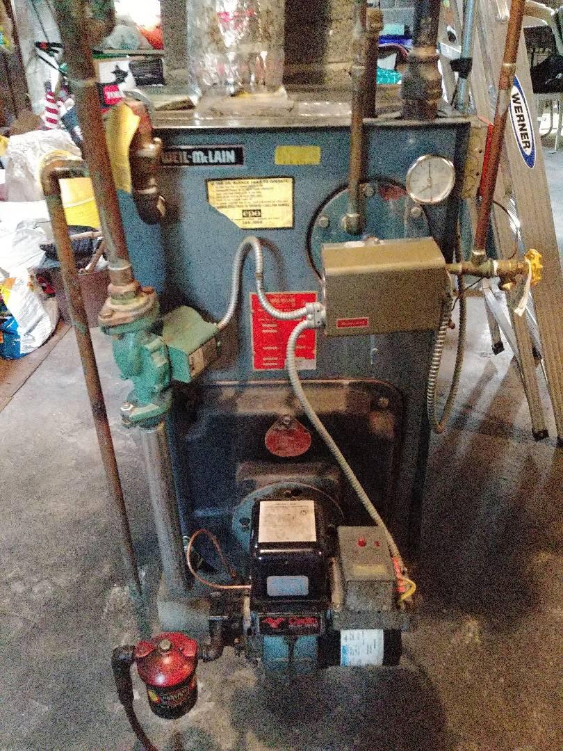 Rahway, NJ - Preventative maintenance on oil fired boiler