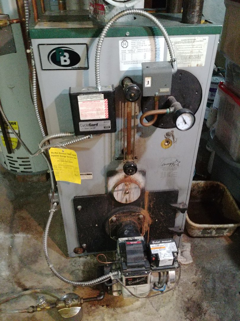 Roselle Park, NJ - Preventative maintenance on oil fired boiler