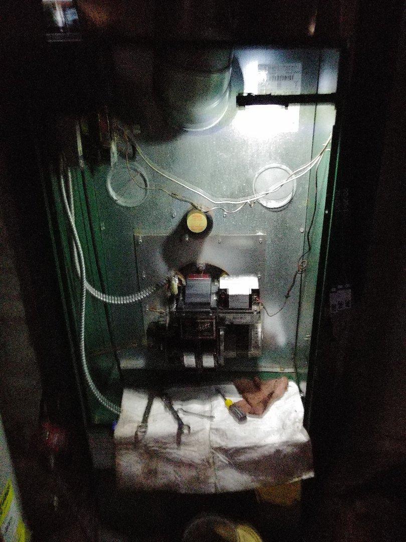 Bound Brook, NJ - Preventative maintenance on oil fired furnace