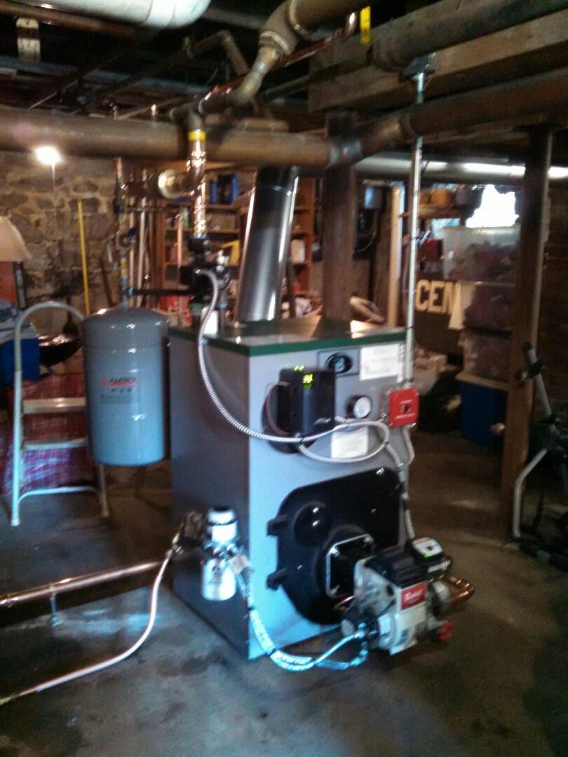Clinton, NJ - Installed new peerless hot water boiler.