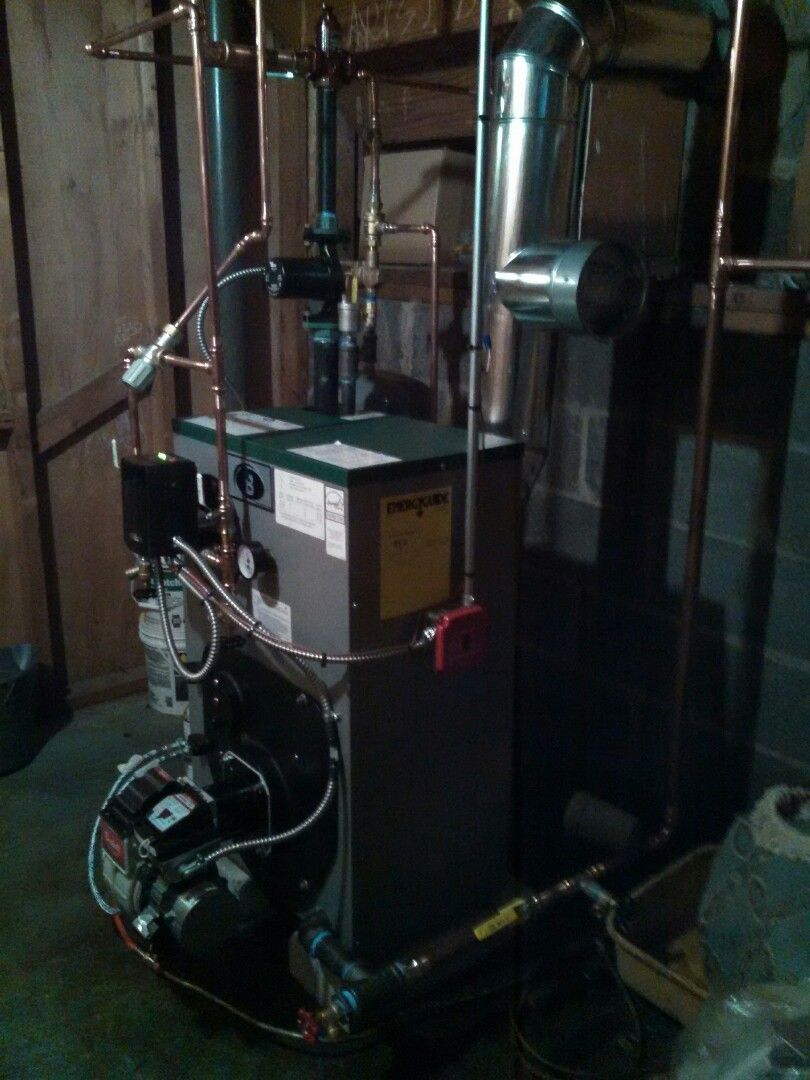 Randolph, NJ - Installed new peerless oil fired boiler