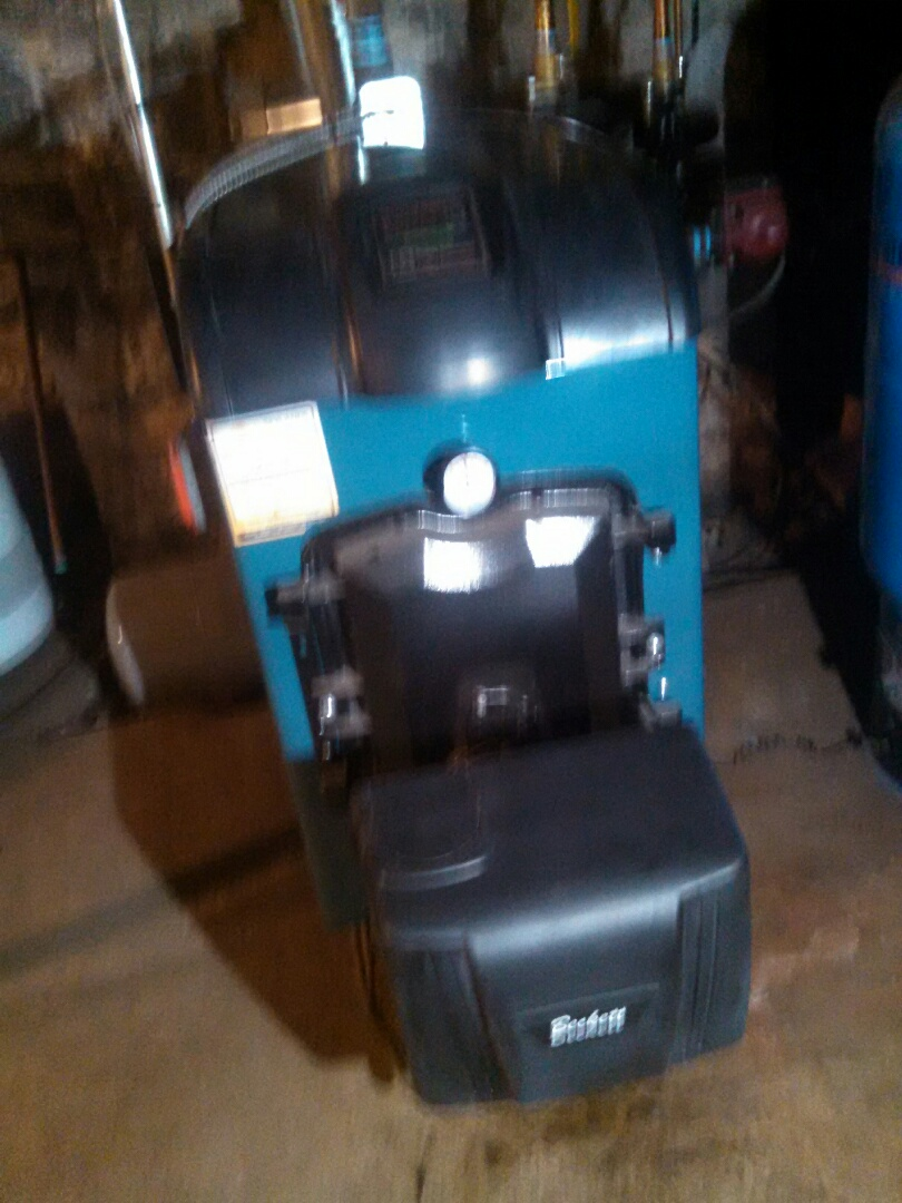 Asbury, NJ - Routine annual maintenance brand new Burnham mpo IQ boiler