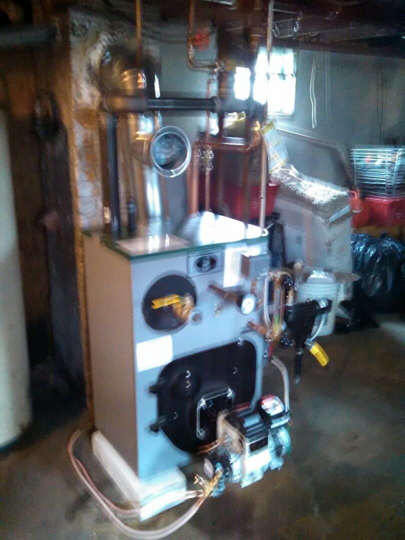 Carteret, NJ - Installed peerless steam boiler.