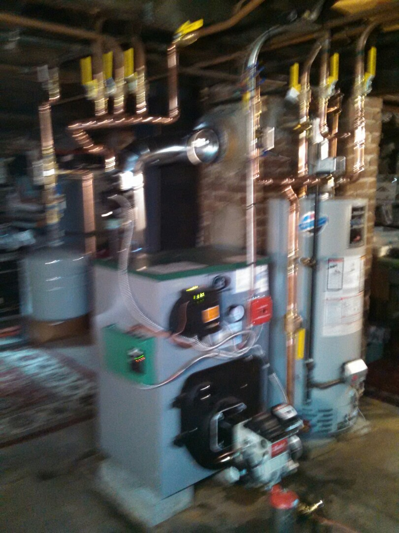 Helmetta, NJ - Installed peerless boiler