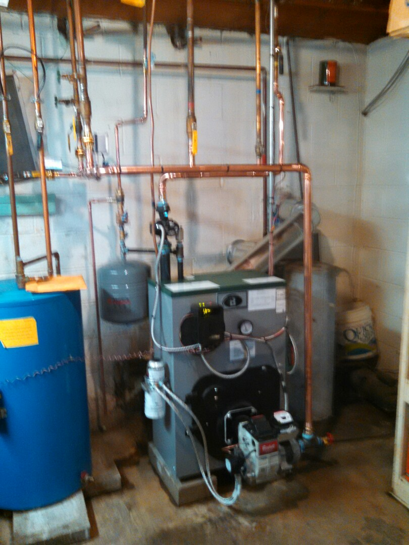 Monroe Township, NJ - Installed Peerless hot water boiler