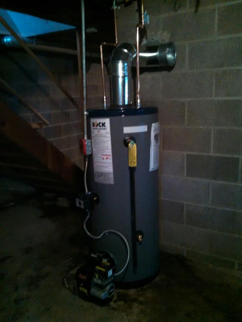 Clinton, NJ - Installed Boch 32e water heater.