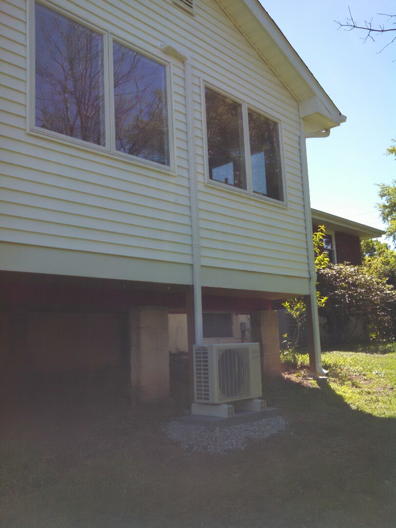 Flemington, NJ - Installed Fujitsu mini split system.