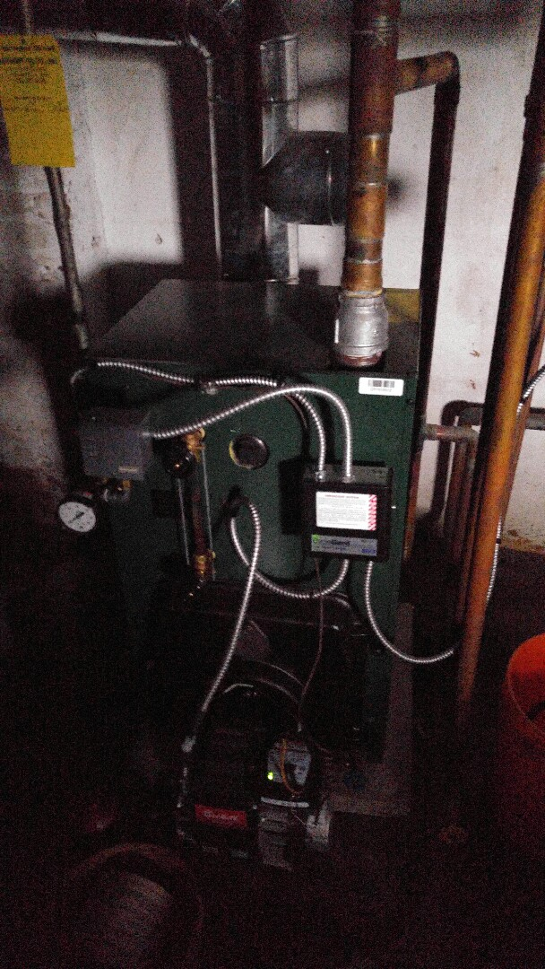 Highland Park, NJ - Annual tune up on a Williamson steam boiler