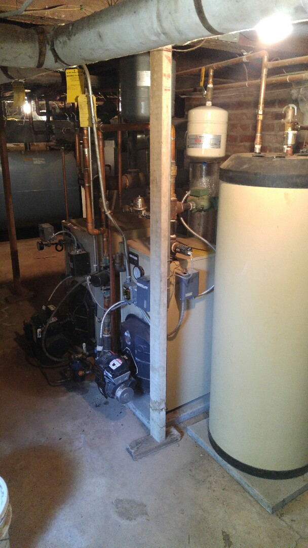 Annual tune up on a wail mclain steam boiler and a wail mclain water boiler with a wail mclain hold plus indirect water heater.