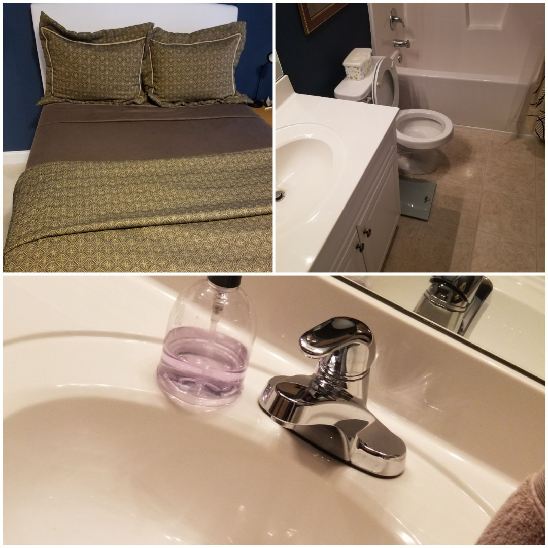 Bed Baths and Beyond Greensboro Cleaning Service Helping Clients get ready for their weekend the right way  Cleaned Bedrooms, Bathrooms, Kitchen  Whole HOUSE Cleaning  Weekly Cleaning Client  His house never really gets dirty! Because we are here every week making sure of it.