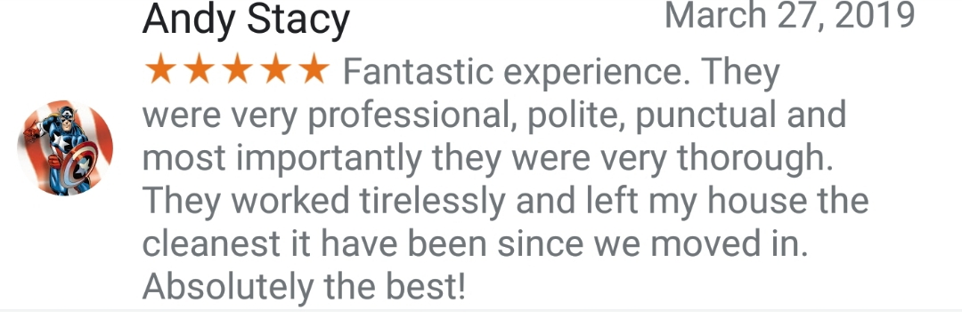 So excited to get this review before we even pulled out of the driveway. Best House Cleaning Near Me. Greensboro Cleaning Service