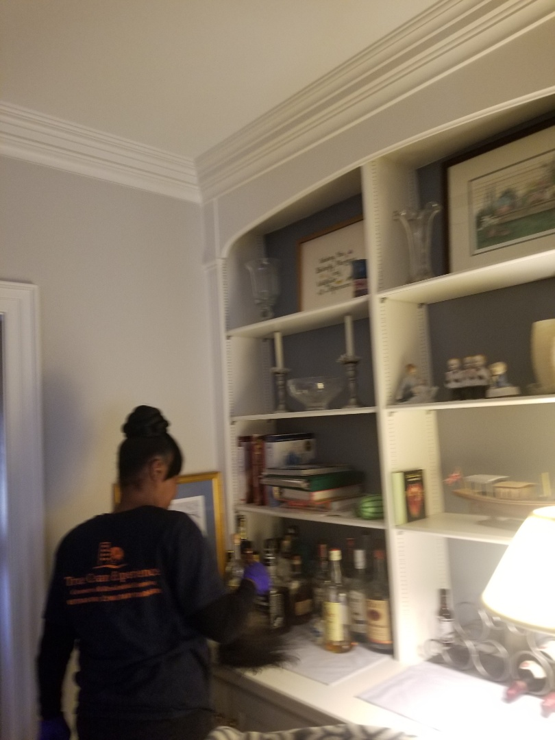 Greensboro, NC - Weekly cleaning for a very nice client. This client has Collectibles and we are very Careful with his home. House cleaning near me. House cleaning in Greensboro. Weekly maid service. Trustworthy house cleaners.