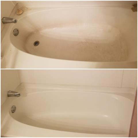 High Point, NC - We do detail work, and many times are able to bring your tubs and sinks, bathrooms and kitchens back to life with our cleanings.  Our initial cleanings for our new clients are happy, because now the house won't have a chance to receive buildup,  we will be cleaning it every two weeks.