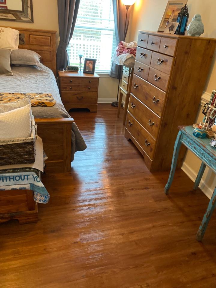 Freshly mopped floors anyone