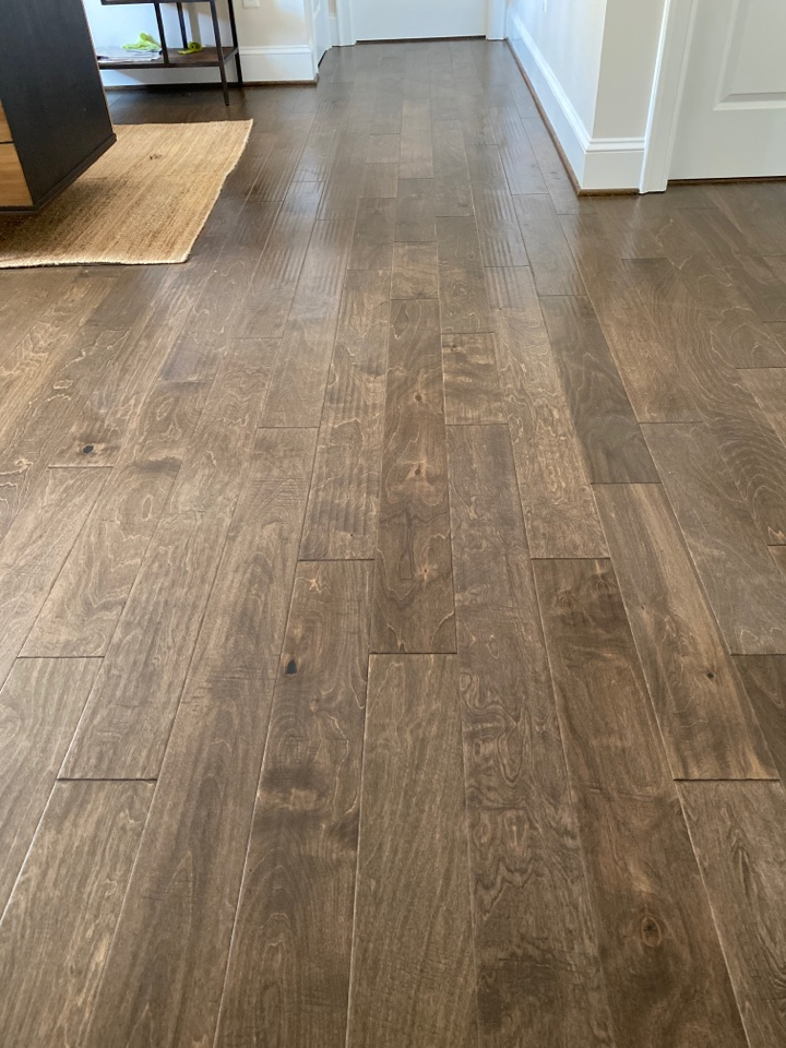 Greensboro, NC - Freshly mopped hardwood floors