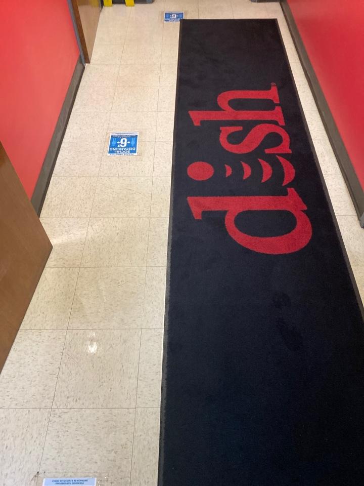 Greensboro, NC - Mopped floor vacuumed rug