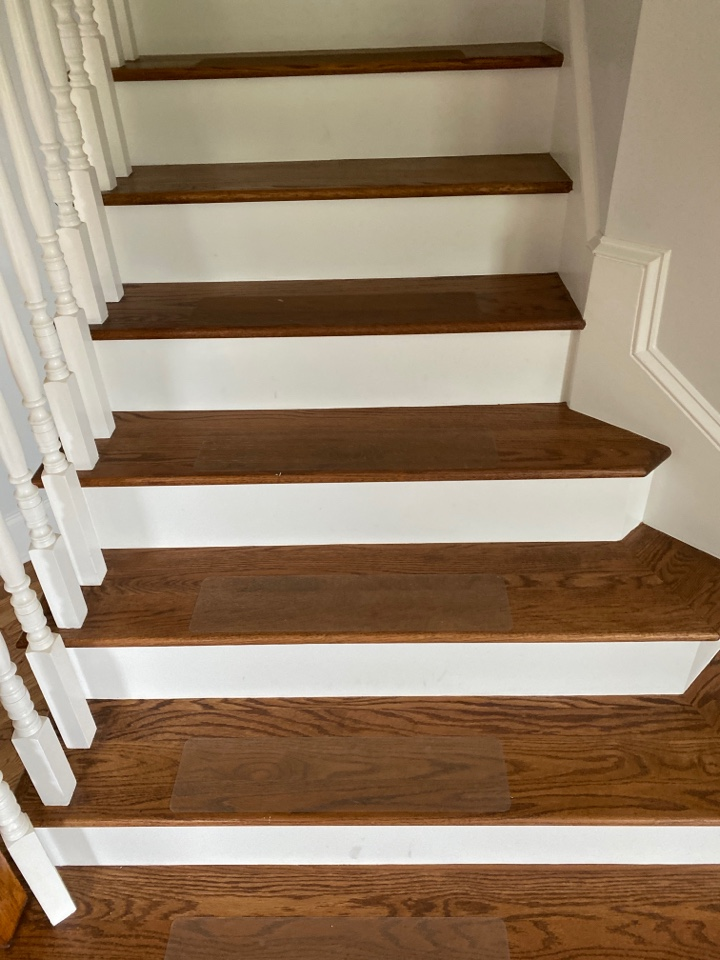Mopped steps