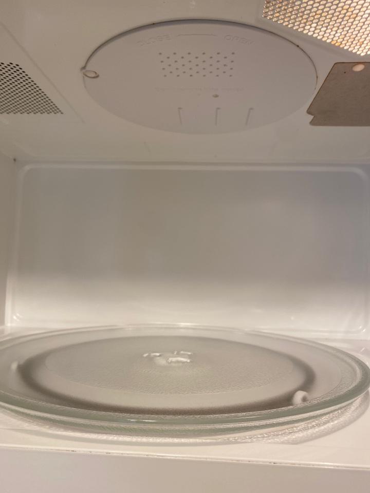 Clean microwave