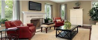 Whole house cleaning in Greensboro. Maid Services for a monthly client.  She loves our professional cleaning service.