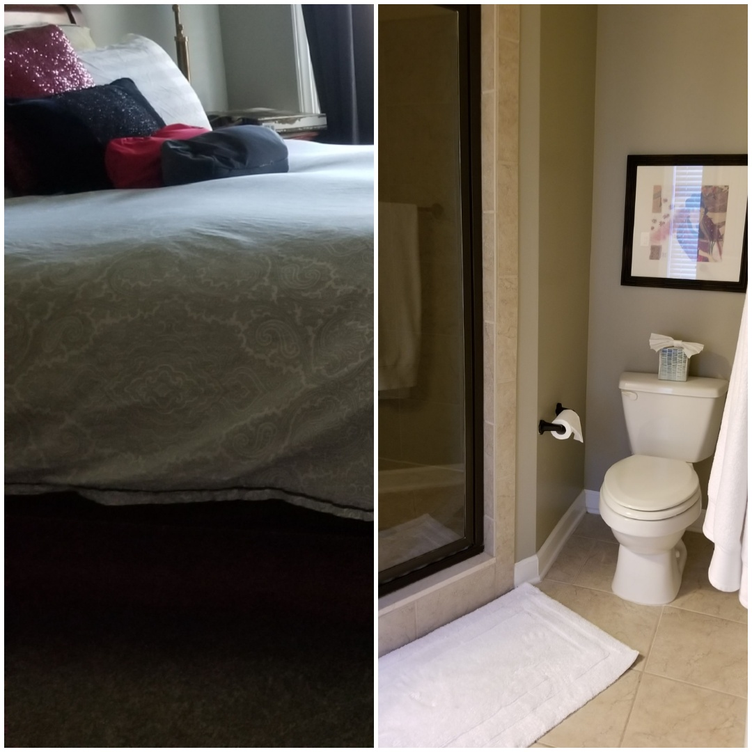 In Greensboro area today just completed a house cleaning.   Sparkling clean bathrooms, client loved this.   Greensboro  cleaning a house today