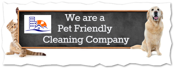 This is one of my favorites, they have 2 dogs.  They love me. We are pet friendly. We get all the pet hair up.  We use environment friendly products to keep our homes that have pets safe.