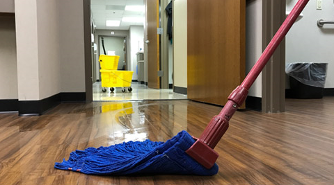 Jamestown, NC - dust mopping mopping floor care Greensboro janitorial services