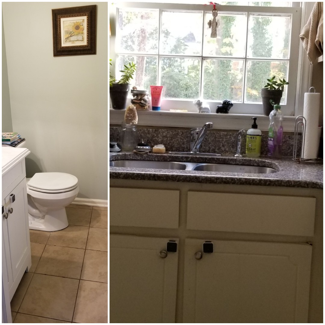 Just finished house cleaning in the Greensboro area!  Sparkling clean bathrooms  Customer loved the clean!!!!  Contact True Clean Experience for a sparkling clean house.  Happy Thanksgiving
