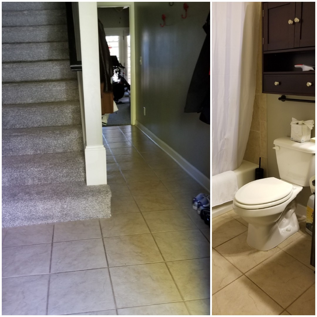 Greensboro, NC - Just finished house cleaning in the Greensboro area!  Sparkling clean bathrooms  Customer loved the clean!!!!  Contact True Clean Experience for a sparkling clean house.