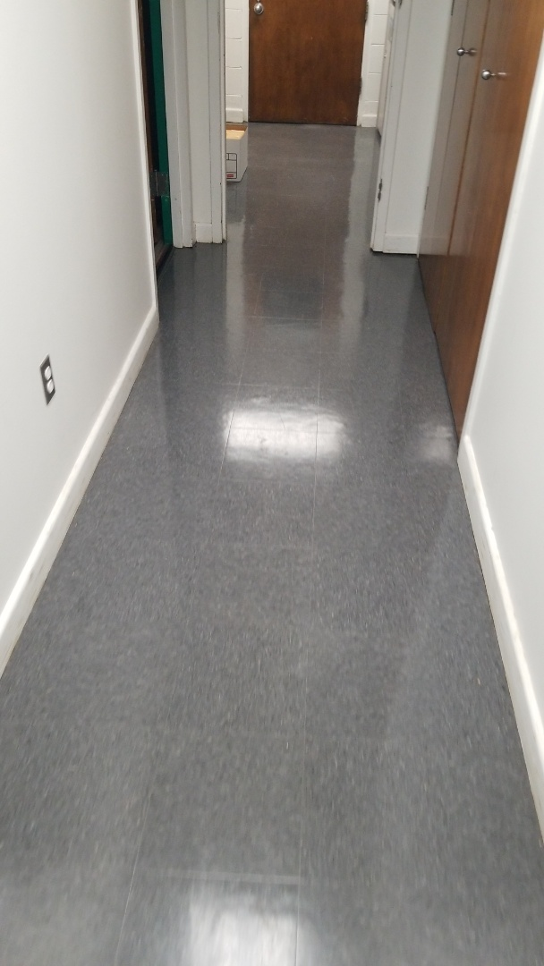 Spotless hallways