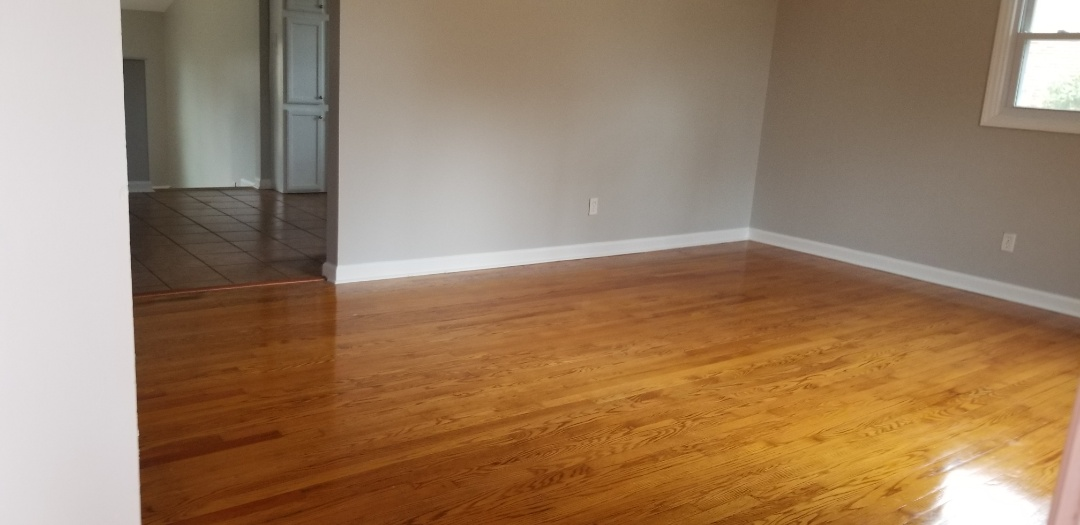 Just did a move out house. Nice and shiny floors ready for someone to move into!!!! In the Greensboro area.