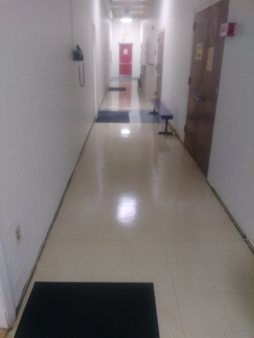 Very Proud of the work we did to clean these floors