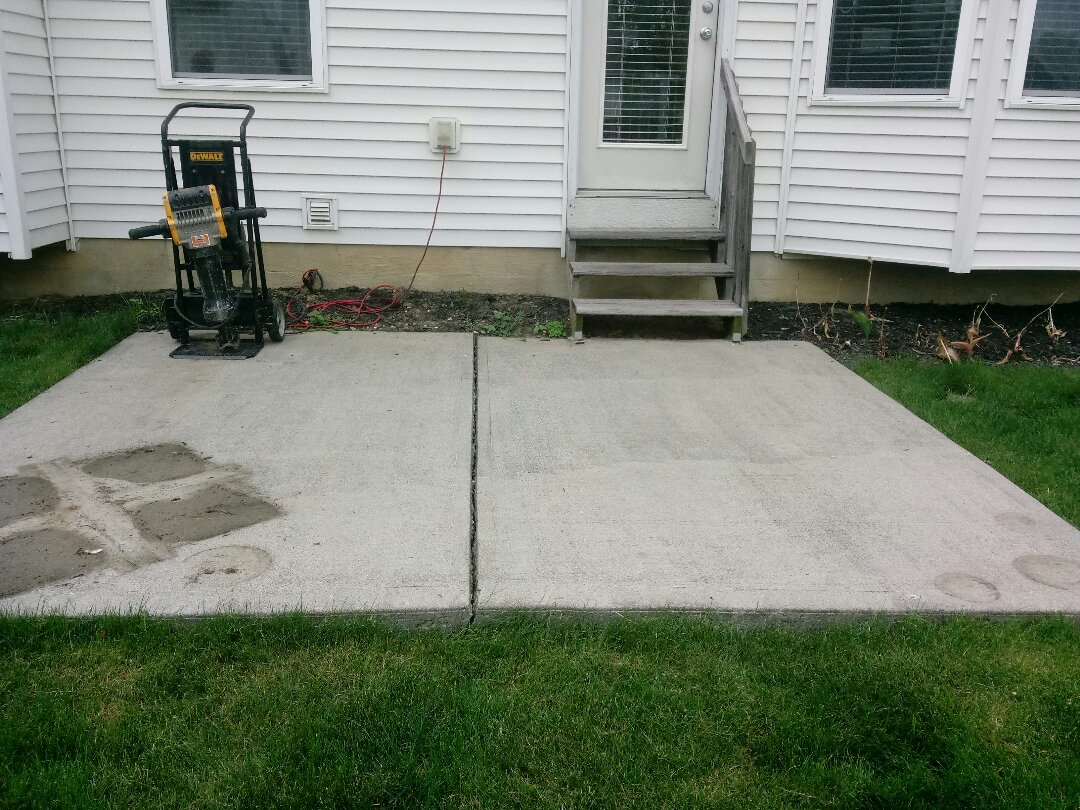 Columbus, OH - Concrete removal