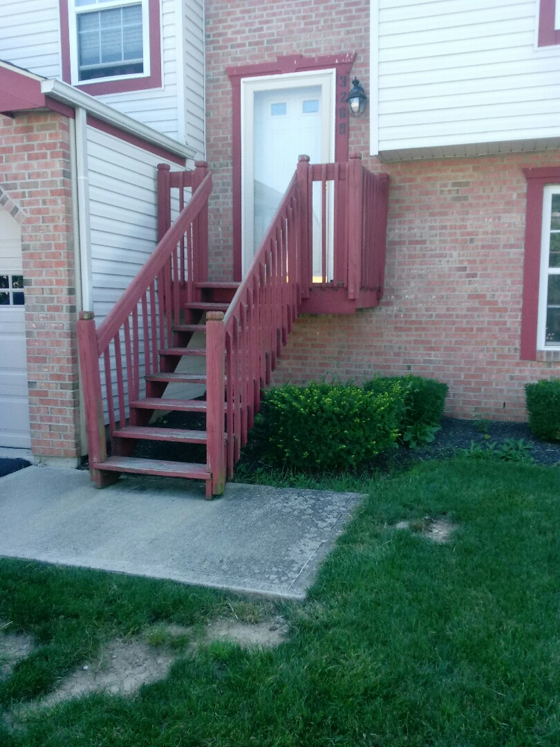 Columbus, OH - Step demo new front landscape