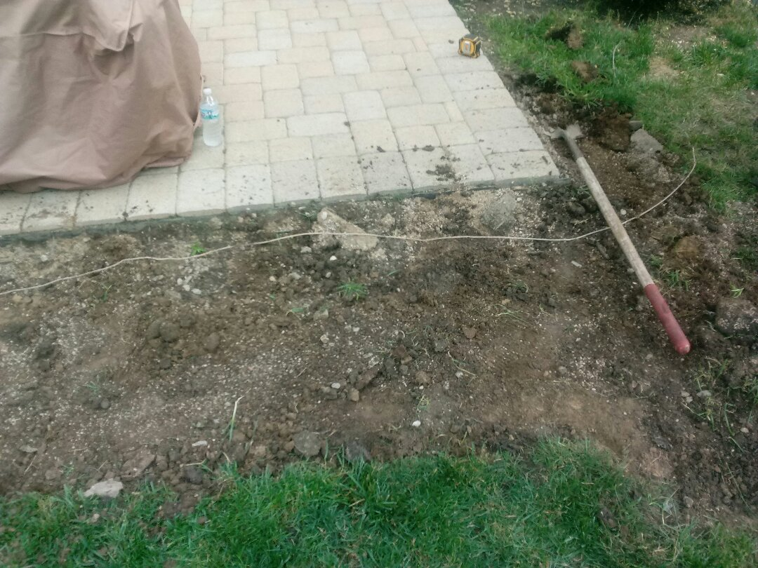 Columbus, OH - Patio extended