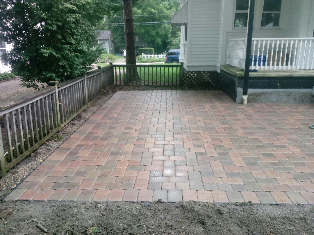 Westerville, OH - Patio install