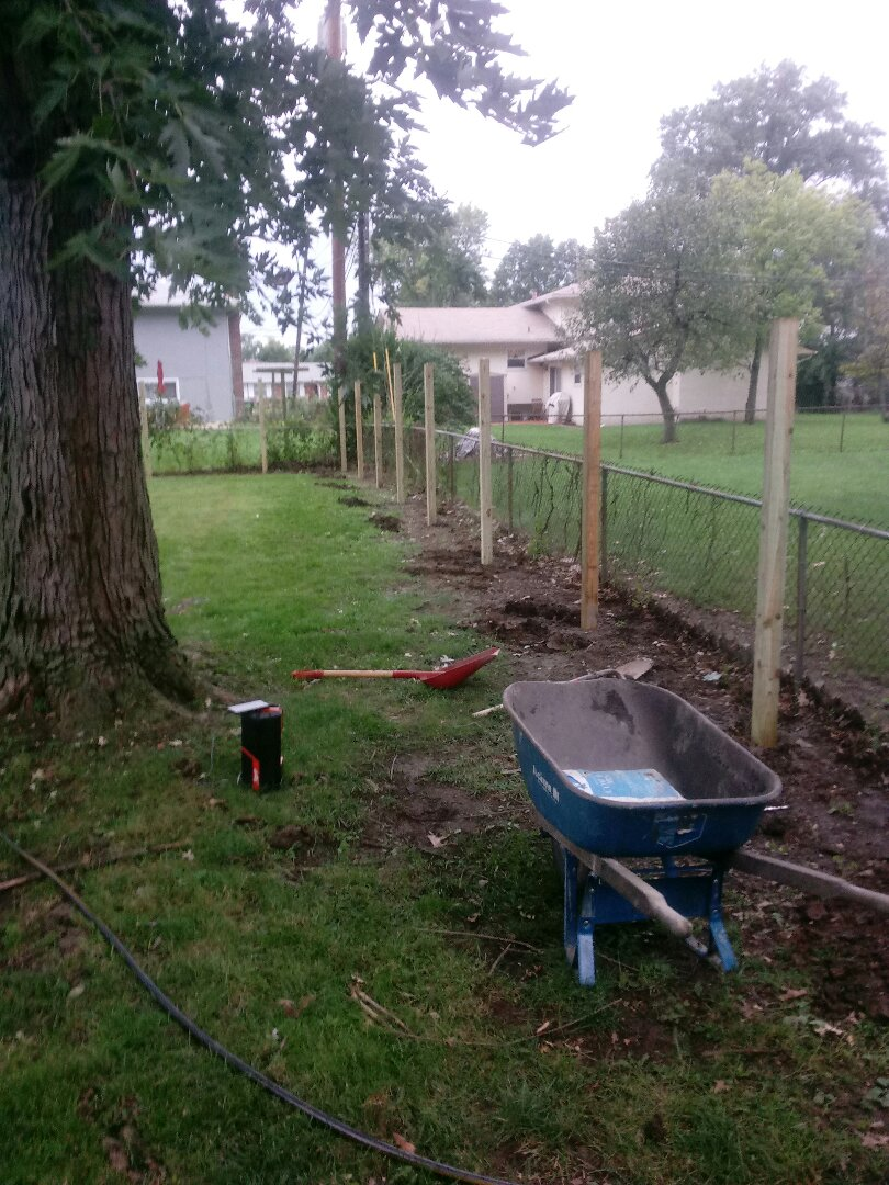 Columbus, OH - Fence install