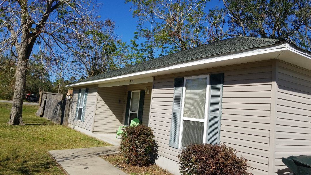 Pensacola, FL - Inspection, shingle and fence damage from Hurricane Sally. It's not always the seen but the unseen damage, loosned up shingles lost seal, leads to leaks later...get yours inspected today!