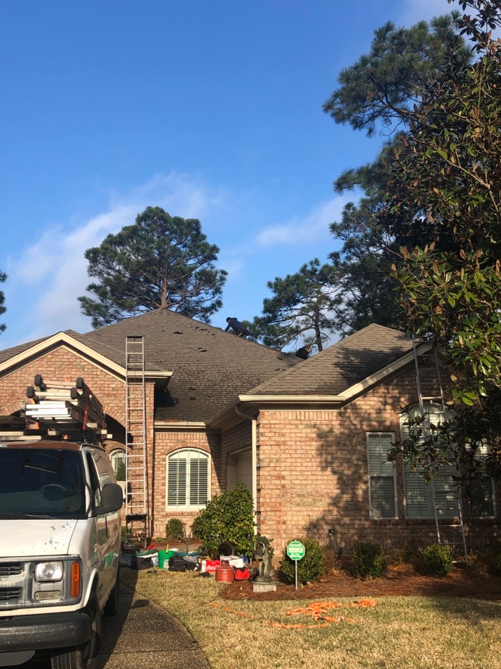 Wilmington, NC - Starting on a brand new roof today bought by insurance