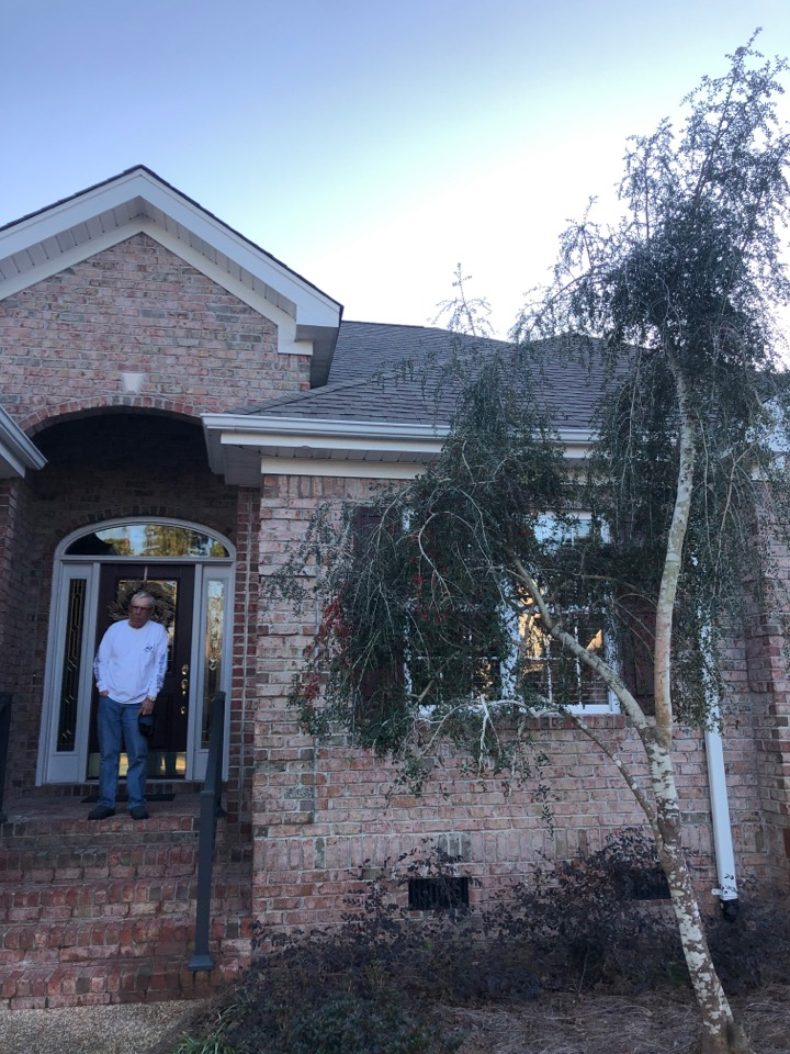 Wilmington, NC - Filling a claim with a homeowner to get him a brand new roof paid by insurance