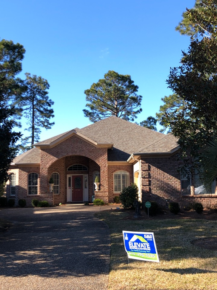 Wilmington, NC - Completed roof paid by insurance