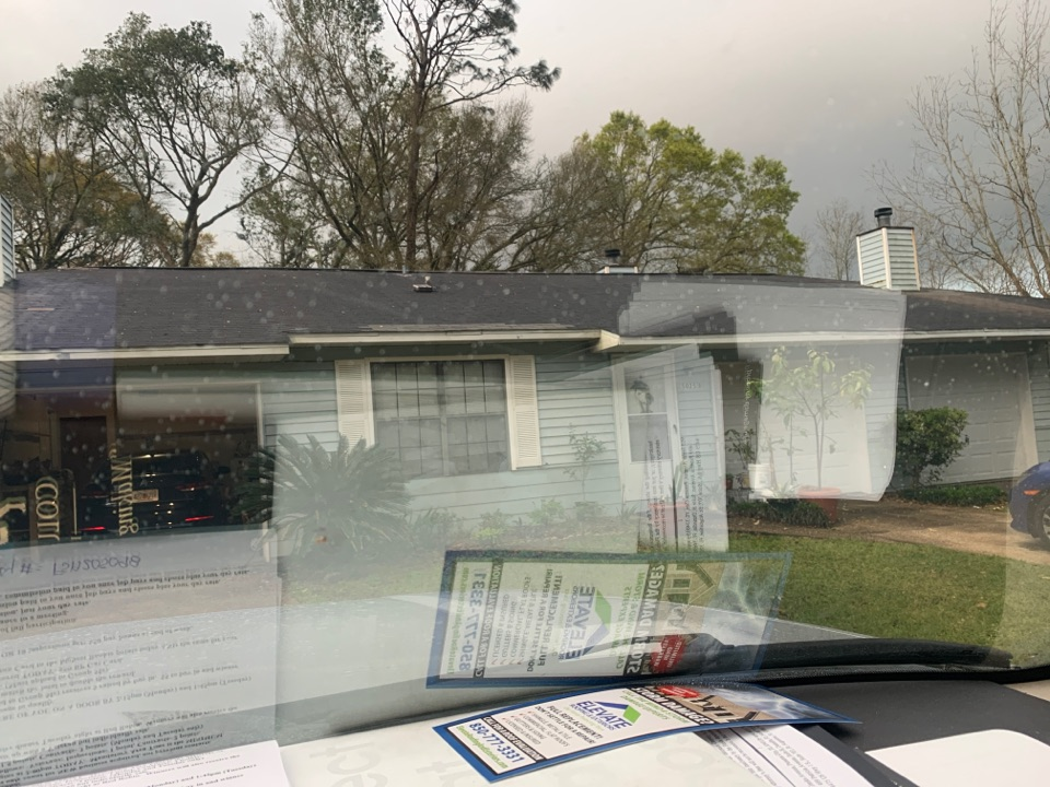 Pensacola, FL - Documentation of damage to home. Client already signed up