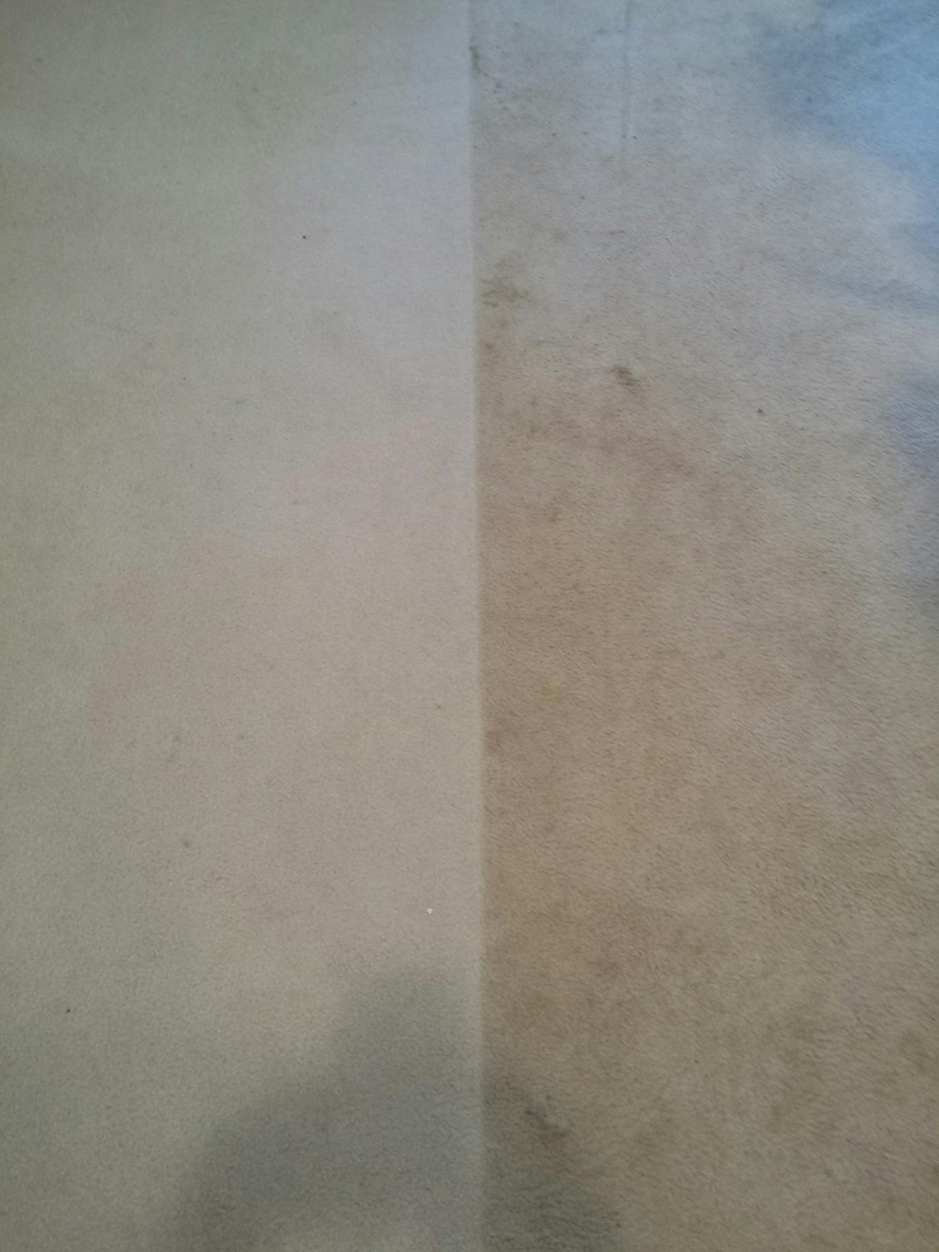 Ashland, VA - Look at the difference between what was cleaned and what wasn't! Now that's a huge difference!