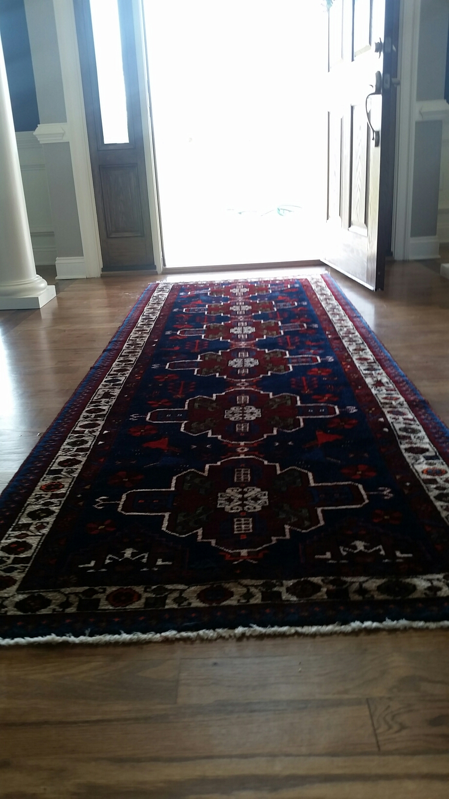 Ashland, VA - Cleaned some free scatter rugs and runners at this home!